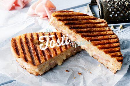 Tosti met Goudse kaas en Ham